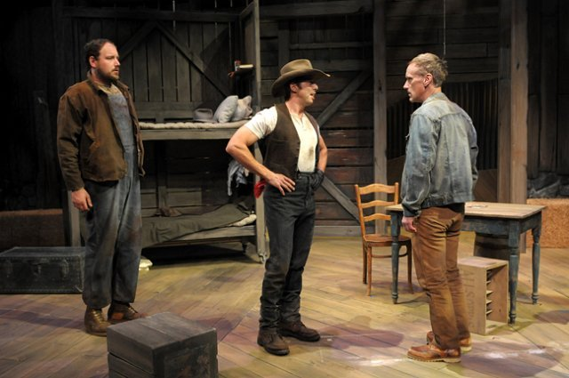 Christopher Halladay in Of Mice and Men